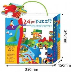 Russell Mata z puzzli Dino 2 (24 elementy)