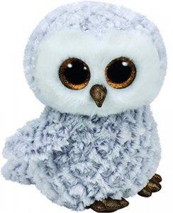 Meteor Maskotka TY Beanie Boos Owlette - Biała sowa, 24 cm