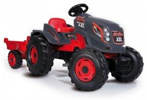 Smoby Traktor XXL + przyczepa