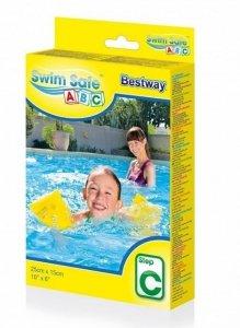 BESTWAY Rękawki do nauki pływania M Żółte 25x15 cm