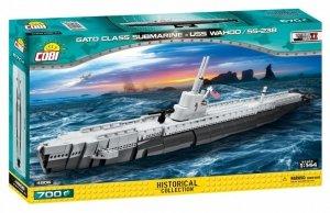 Cobi Klocki Klocki Gato Class Submarine-USS Wahoo SS-238