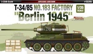 Academy T-34/85 No.183 Factory Berlin 1945
