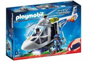 Playmobil Helikopter policyjny z reflektorem LED 6921