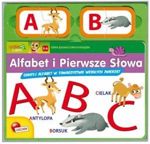Lisciani Książeczki Carotiny - Alfabet ABC i pierwsze słowa