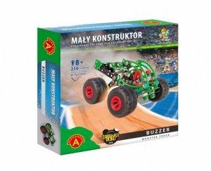 Zestaw konstrukcyjny Mały Konstruktor Monster Truck - Buzzer