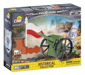 Cobi Klocki Klocki Mała Armia 75 mm Field Gun 1897