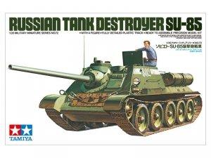 Tamiya Model plastikowy Rosyjski niszczyciel SU-85