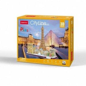 Cubicfun Puzzle 3D City Line Paris