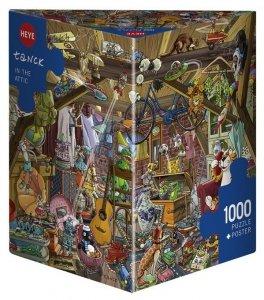Heye Puzzle 1000 elementów - Zabawa na strychu