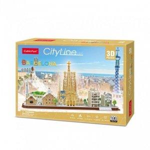Cubicfun Puzzle 3D City Line Barcelona