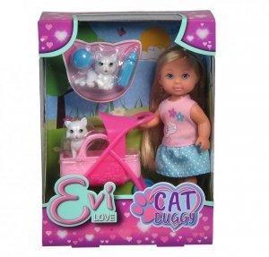 Simba Lalka Evi Love Opiekunka kociaków
