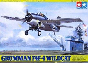 Tamiya Model plastikowy Grumman F4F-4 Wildcat