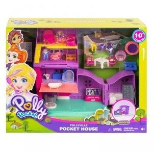 Mattel Zestaw figurek Polly Pocket Pollyville Domek Polly