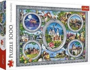 Trefl Puzzle 1000 elementów - Zamki świata