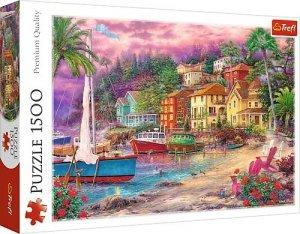 Trefl Puzzle 1500 elementów Na zlotych brzegach