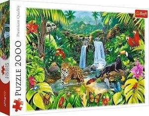 Trefl Puzzle 2000 elementów - Las tropikalny