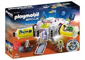 Playmobil Zestaw figurek Stacja na Marsie