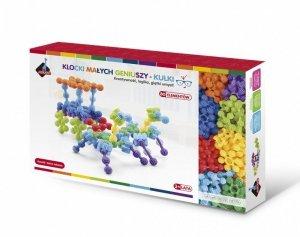 ASKATO Klocki kulki 80 elementów w pudełku