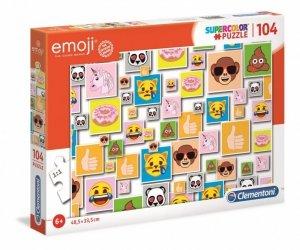 Clementoni Puzzle 104 elementy Super Kolor Emoji