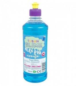 TUBAN Klej do papieru PVA 500 ml niebieski