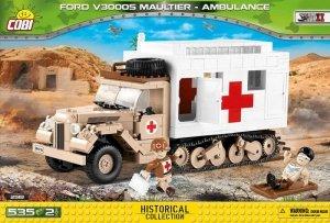 Cobi Klocki klocki Small Army Ford V3000S Maultier Ambulance