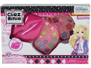 Brimarex Kosmetyki dla lalek w kształcie ust 20 elementów