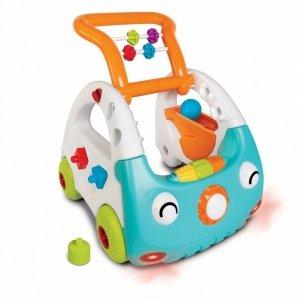 B-kids Pchacz Sensoryczny samochodzik 3w1