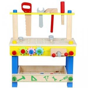 Funikids Drewniany Warsztat z narzędziami 48 elementów