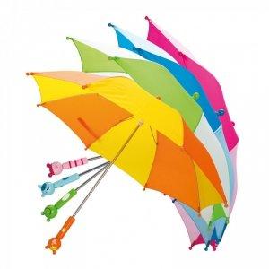 BINO Parasolka z drewnianą rączką Zwierzęta