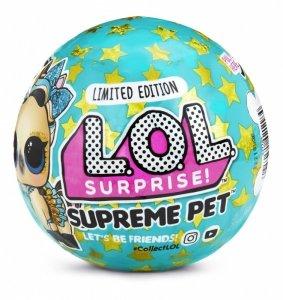 Mga Figurki L.O.L. Surprise Pets Supreme edycja limitowana display 36szt