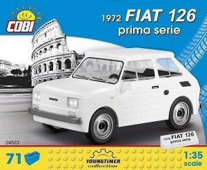 Cobi Klocki Klocki Cars 1972 Fiat Prima Serie