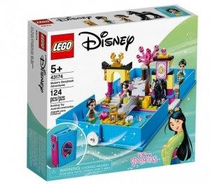 Klocki Disney Princess Książka z przygodami Mulan
