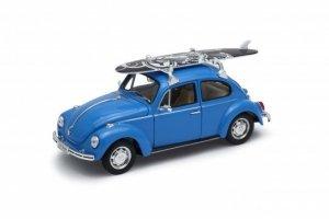 Welly Model kolekcjonerski Volkswagen Beetle niebieski