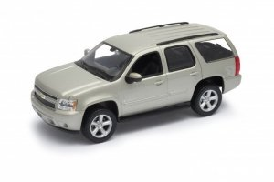 Welly Model kolekcjonerski 2008 Chevrolet Tahoe, srebrny