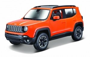 Maisto Model metalowy Jeep Renegade 1:24 do składania