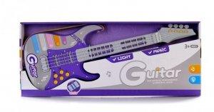 Gitara ze światłem i dźwiękiem