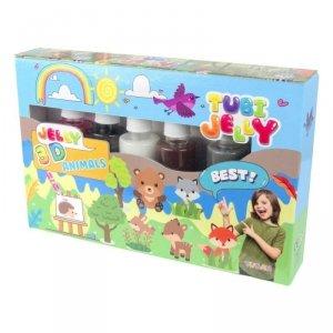 TUBAN Zestaw Tubi Jelly 6 kolorów - Zwierzątka