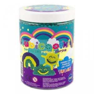 TUBAN Masa plastyczna Tubicoolki 1L 3 kolory - Tęcza