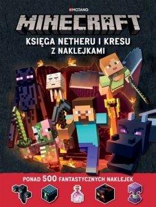 Egmont Minecraft. Księga Netheru i Kresu z naklejkami
