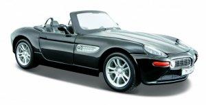 Maisto Model metalowy BMW Z8 czarny 1:24