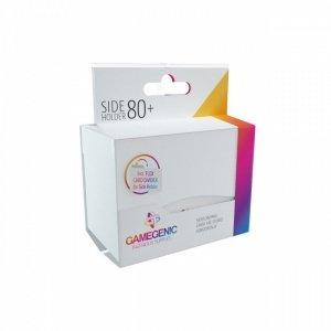 Pudełko Leżące Plastikowe na 80+ kart Białe