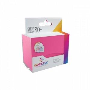 Pudełko Leżące Plastikowe na 80+ kart Różowy