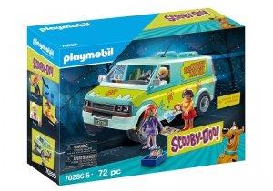 Playmobil Zestaw figurek Scooby Doo Auto Mystery Machine 70286