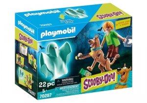 Playmobil Zestaw figurek Scooby Doo Scooby i Shaggy z duchem