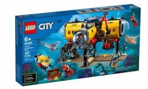 Klocki City Baza badaczy oceanu