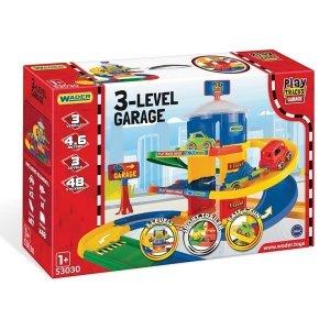 Wader Garaż 3-poziomowy Play Tracks