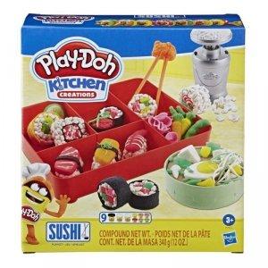Hasbro Zestaw z masą plastyczną PlayDoh Sushi