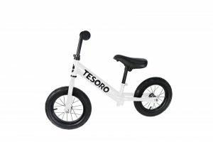 Tesoro Rowerek biegowy dla dzieci PL-12 Biały Mat