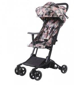 Wózek spacerowy S900 Różowy kamuflaż