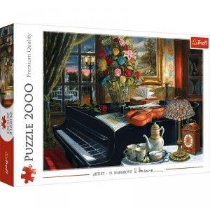 Trefl Puzzle 2000 elementów Dźwieki muzyki